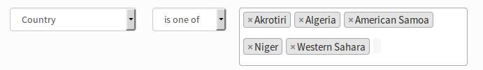 HTML select multiple input usability on Segment plugin