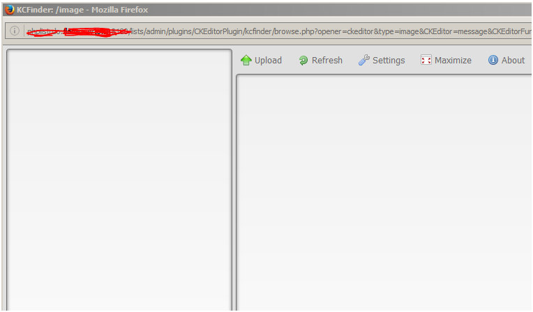 You don't have permissions to browse server - Support - phpList Discuss